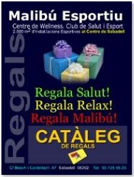 Club Malibu Esportiu DESCOPMTES-REGALS-ADULTS